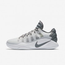 Nike Hyperdunk 2016 Low Pure Platinum/White/Cool Grey Mens Basketball Shoes
