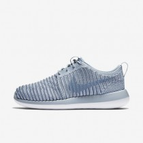 Nike Roshe Two Flyknit Blue Grey/Ocean Fog/Pure Platinum/Blue Grey Womens Shoes