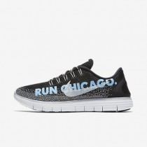 Nike Free RN Distance LE (Chicago 2016) Black/Bluecap/Anthracite/White Womens Running Shoes