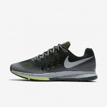 Nike Air Zoom Pegasus 33 Shield Black/Dark Grey/Stealth/Metallic Silver Womens Running Shoes