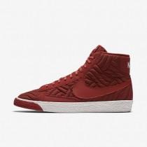 Nike Blazer Mid Premium SE Dark Cayenne/Ivory/Dark Cayenne Womens Basketball Shoes