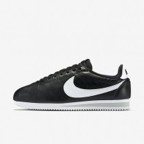 Nike Classic Cortez 2015 Premium (Men's Sizing) Black/Neutral Grey/White unisex Shoes