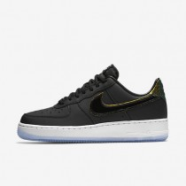 Nike Air Force 1 07 Premium Black/Pure Platinum/Black Womens Shoes
