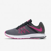 Nike Zoom Winflo 3 Cool Grey/Anthracite/Wolf Grey/Pink Blast Womens Running Shoes