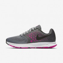 Nike Air Zoom Span Cool Grey/Fire Pink/Dark Grey/Black Womens Running Shoes