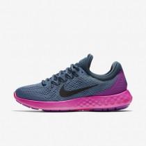 Nike Lunar Skyelux Ocean Fog/Squadron Blue/Hyper Violet/Black Womens Running Shoes