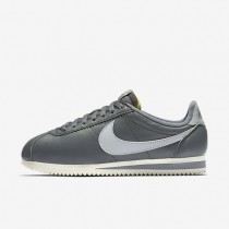 Nike Classic Cortez Leather Premium Cool Grey/Sail/Wolf Grey Womens Shoes