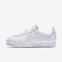 Nike Classic Cortez Leather Premium White/White Womens Shoes