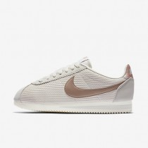 Nike Classic Cortez Leather Lux Light Bone/Sail/Metallic Red Bronze Womens Shoes