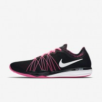 Nike Dual Fusion HIT Print Black/Pink Blast/White Womens Training Shoes