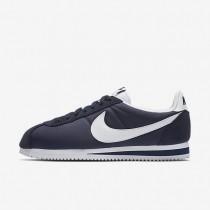 Nike Classic Cortez 15 Nylon Blue/White Womens Shoes