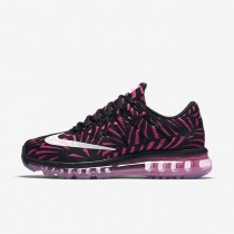 Nike Air Max 2016 Print Black/Pink Blast/Pearl Pink Womens Running Shoes