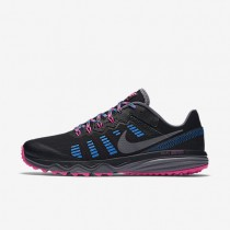 Nike Dual Fusion Trail 2 Black/Pink Blast/Photo Blue/Dark Grey Womens Running Shoes