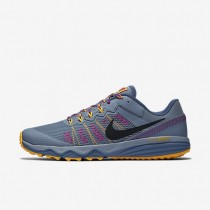 Nike Dual Fusion Trail 2 Blue Grey/Laser Orange/Hyper Violet/Ocean Fog Womens Running Shoes