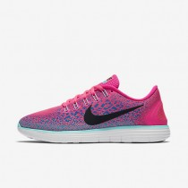Nike Free RN Distance Pink Womens Running Shoes