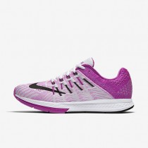 Nike Air Zoom Elite 8 White/Hyper Violet/Black Womens Running Shoes
