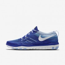 Nike Free TR Focus Flyknit Racer Blue/Bluecap/White Womens Training Shoes