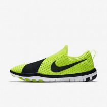 Nike Free Connect Volt/White/Black Womens Training Shoes