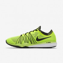 Nike Dual Fusion HIT Print Volt/White/Black Womens Training Shoes