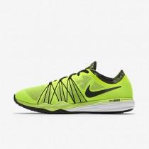 Nike Dual Fusion HIT Print Volt/White/Black Womens Training Shoes