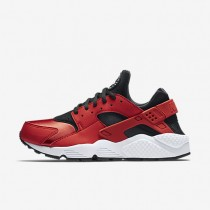 Nike Air Huarache University Red/White/Black Womens Shoes