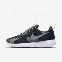 Nike Roshe One Jacquard Print Dark Grey/Pure Platinum/Wolf Grey/Black Womens Shoes