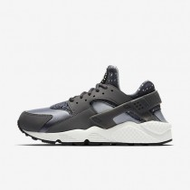 Nike Air Huarache Print Dark Grey/Wolf Grey/Stealth/Summit White Womens Shoes