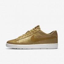 Nike Court Classic Ultra Premium Metallic Gold/Flat Gold Womens Shoes