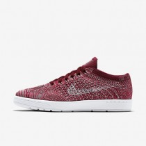 Nike Court Tennis Classic Ultra Flyknit Team Red/Plum Fog/Team Red/White Womens Shoes