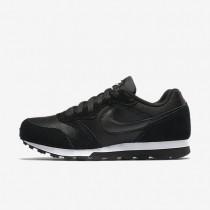 Nike MD Runner 2 Black/White/Black Womens Shoes