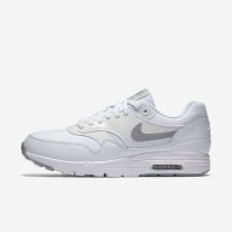 Nike Air Max 1 Ultra Essentials White/Pure Platinum/Metallic Silver/Wolf Grey Womens Shoes
