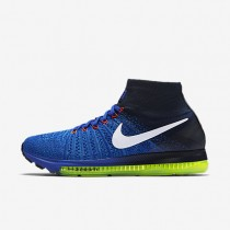 Nike Air Zoom All Out Flyknit Racer Blue/Obsidian/Blue Glow/White Womens Running Shoes