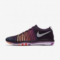 Nike Free Transform Flyknit Grand Purple/Hyper Violet/Total Crimson/White Womens Training Shoes