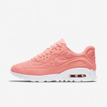 Nike Air Max 90 Ultra Plush Atomic Pink/Summit White/Light Iron Ore/Atomic Pink Womens Shoes
