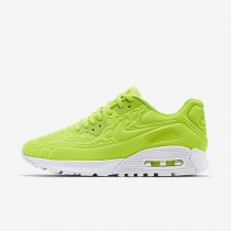 Nike Air Max 90 Ultra Plush Volt/White/Palest Purple/Volt Womens Shoes