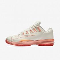 Nike Court Lunar Ballistec 1.5 Sail/Total Crimson/Light Silver/Atomic Pink Womens Tennis Shoes