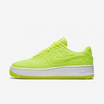 Nike Air Force 1 Upstep SE Volt/Palest Purple/Volt Womens Shoes