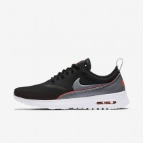 Nike Air Max Thea Ultra Black/Bright Crimson/Wolf Grey/Cool Grey Womens Shoes