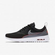 Nike Air Max Thea Ultra Black/Bright Crimson/Wolf Grey/Cool Grey Womens Shoes