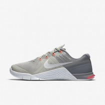 Nike Metcon 2 Amp Pale Grey/Stealth/Lava Glow/Off-White Womens Training Shoes