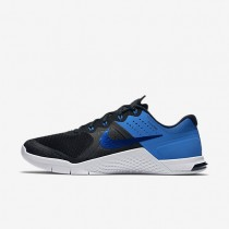 Nike Metcon 2 Amp Black/White/Royal Blue Womens Training Shoes