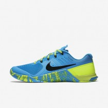 Nike Metcon 2 Amp Blue Glow/Volt/Black/Black Womens Training Shoes