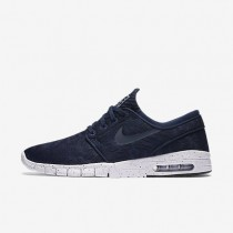 Nike SB Stefan Janoski Max Midnight Navy/White/Midnight Navy Mens Skateboarding Shoes
