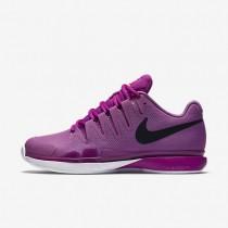Nike Court Zoom Vapor 9.5 Tour Clay Viola/Hyper Violet/Hyper Pink/Black Womens Tennis Shoes