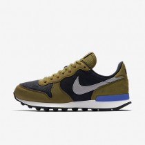 Nike Internationalist Premium Black/Olive/Summit White/Matte Silver Womens Shoes