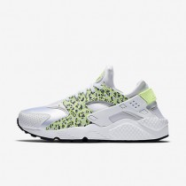Nike Air Huarache Premium White/Pure Platinum/Black/Ghost Green Womens Shoes