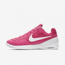Nike Court Zoom Cage 2 Vivid Pink/Black/White Womens Tennis Shoes