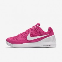 Nike Court Zoom Cage 2 Clay Vivid Pink/Black/White Womens Tennis Shoes