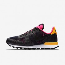 Nike Internationalist EM Black/Pink Blast/Laser Orange/Black Womens Shoes
