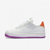 Nike Air Force 1 07 Textile Premium Off-White/Hyper Violet/Total Orange/Off-White Womens Shoes